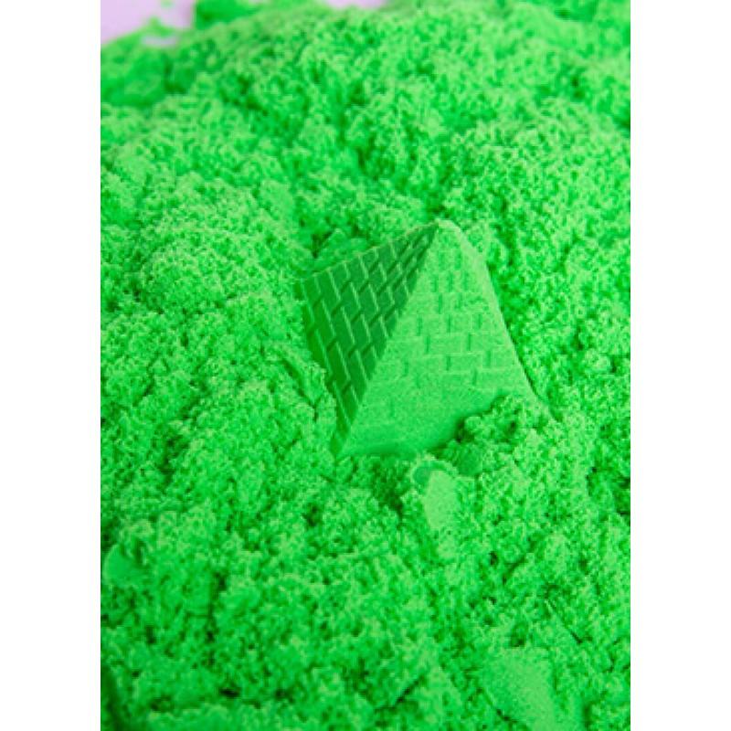 Green Play Sand Kinetic Sensory Activity
